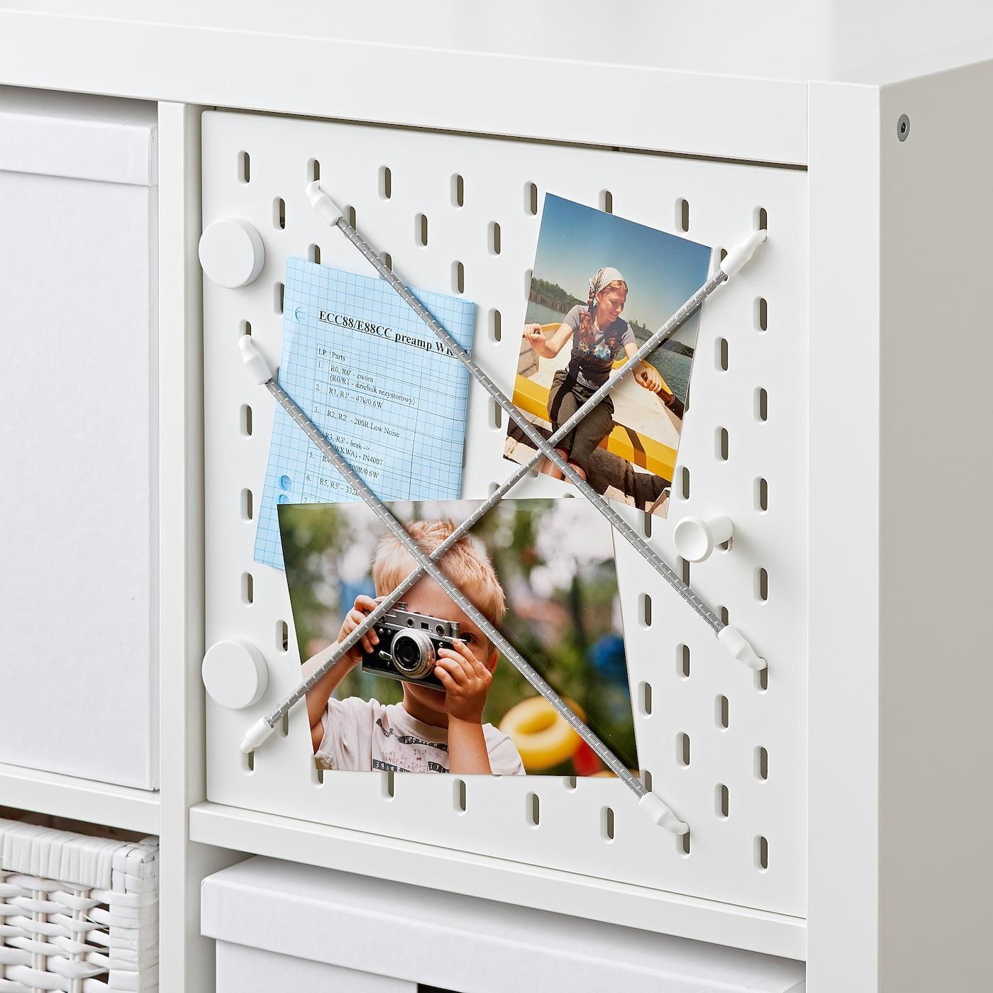 KALLAX Regaleinsatz mit Lochplatte weiß IKEA Österreich