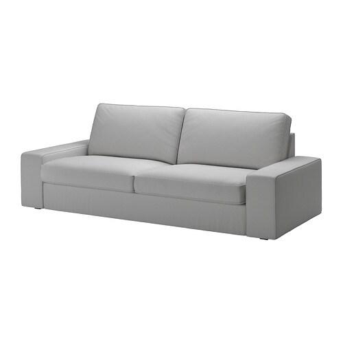 kivik 3er sofa orrsta hellgrau ikea. Black Bedroom Furniture Sets. Home Design Ideas