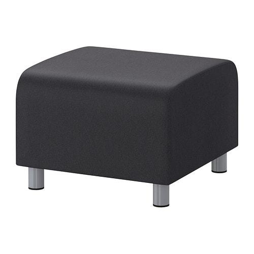 klippan hocker dansbo dunkelgrau ikea. Black Bedroom Furniture Sets. Home Design Ideas