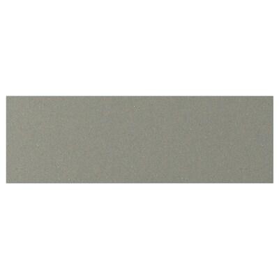KLUBBUKT Schubladenfront, graugrün, 60x20 cm