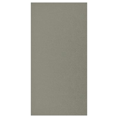 KLUBBUKT Tür, graugrün, 60x120 cm