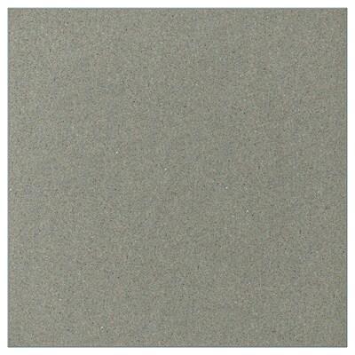 KLUBBUKT Tür mit Scharnieren, graugrün, 40x40 cm