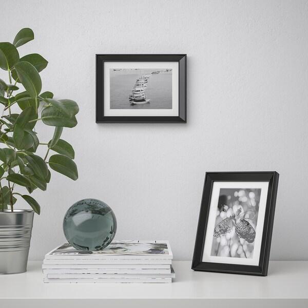 KNOPPÄNG Rahmen schwarz IKEA Österreich