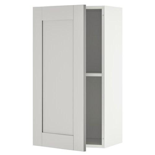 KNOXHULT Wandschrank mit Tür grau 40 cm 31 cm 75 cm