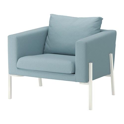 Sessel weiß  KOARP Sessel - Orrsta hellblau, weiß - IKEA