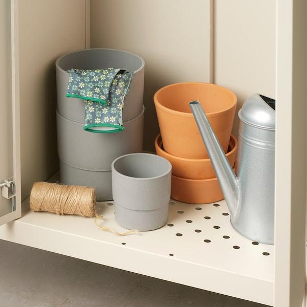 KOLBJÖRN Schrank drinnen/draußen, beige, 90x161 cm