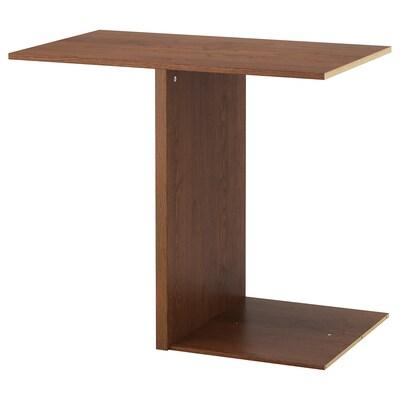 PAX Eckanbauelement4 Böden Eschenachb braun las IKEA
