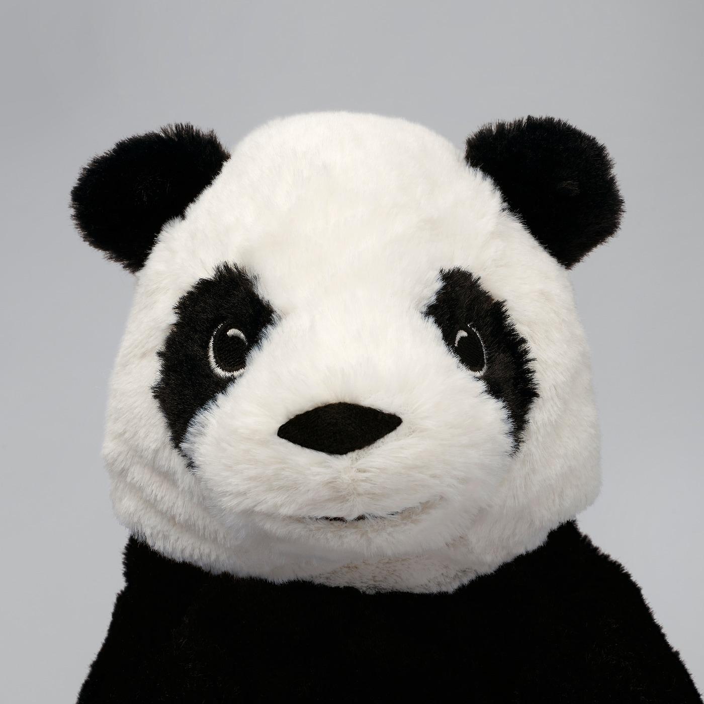 KRAMIG Stoffspielzeug weiß/schwarz 30 cm