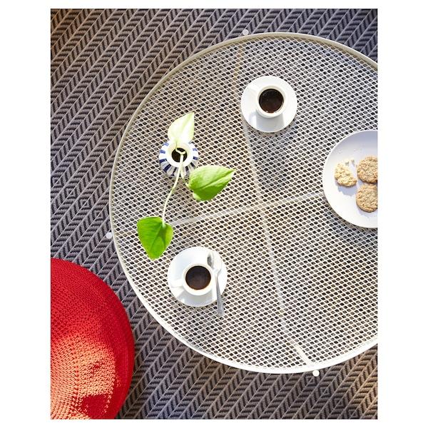 KROKHOLMEN Couchtisch/außen, beige, 73 cm