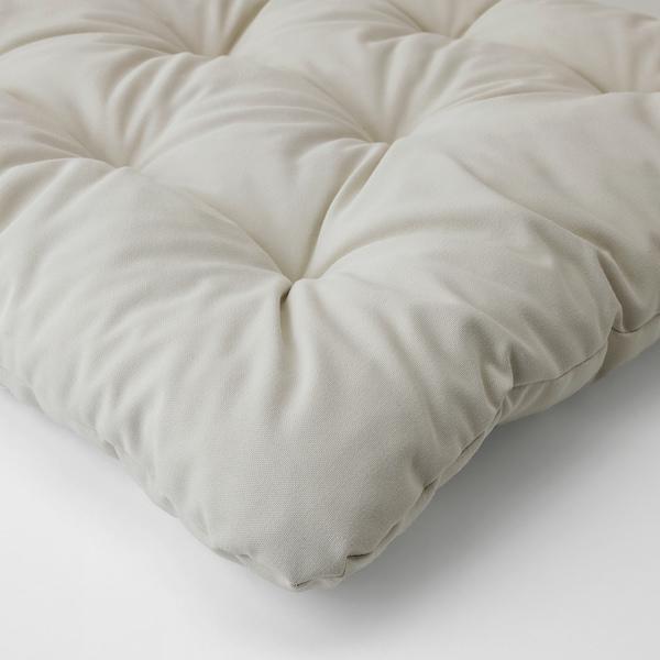 KUDDARNA Sitz-/Rückenpolster/außen, grau, 116x45 cm