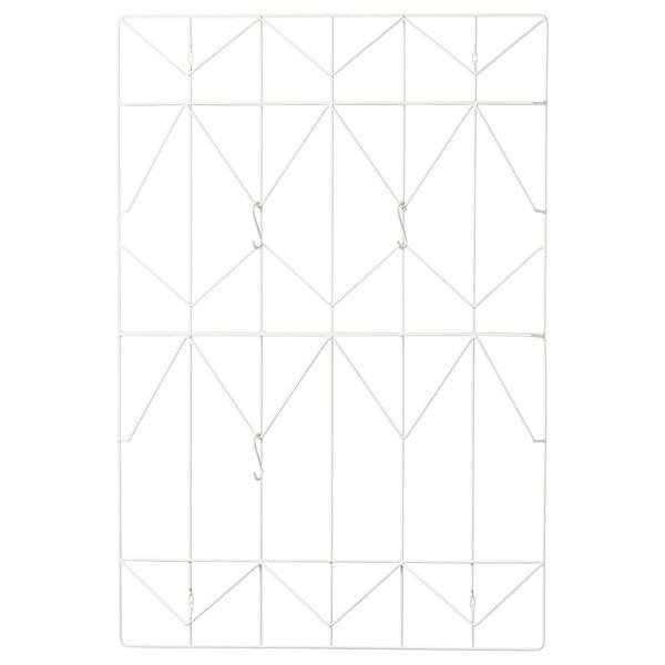 KVICKSUND Notiztafel, weiß, 58x86 cm