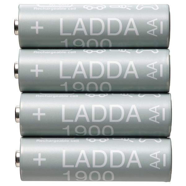 LADDA Akku, aufladbar, HR06 AA 1,2 V, 1900mAh