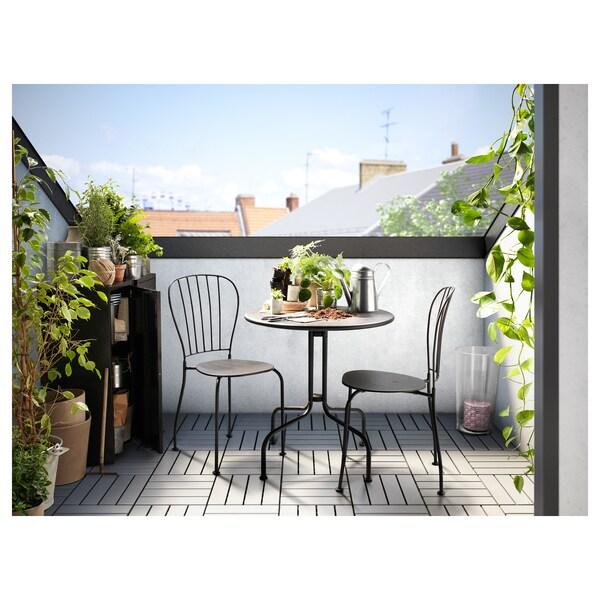 IKEA LÄCKÖ Tisch+2 stühle/außen