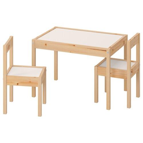 IKEA LÄTT Kindertisch mit 2 stühlen