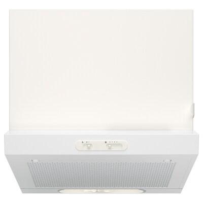 LAGAN Dunstabzugshaube f Wandmontage weiß 60.0 cm 51 cm 13 cm 1.33 m 7.20 kg