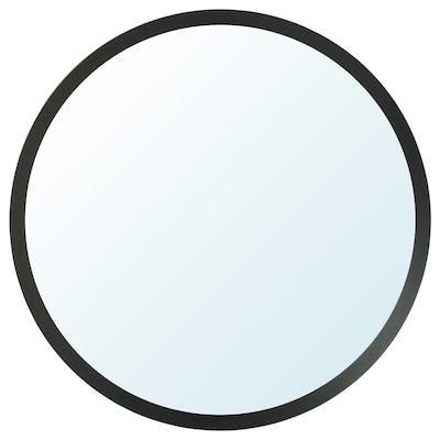 LANGESUND Spiegel, dunkelgrau, 80 cm