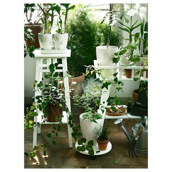 LANTLIV Blumenständer, weiß, 78 cm