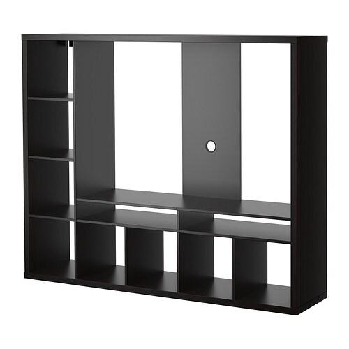 lappland tv m bel schwarzbraun ikea. Black Bedroom Furniture Sets. Home Design Ideas