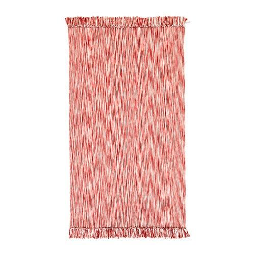 LAPPLJUNG Teppich flach gewebt > Maschinenwaschbar und daher leicht ...