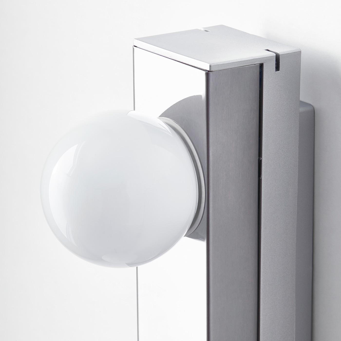 LEDSJÖ Wandleuchte, LED Edelstahl IKEA Österreich