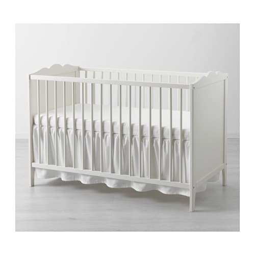 Schlafzimmer Len Ikea len bettvolant für babybett ikea