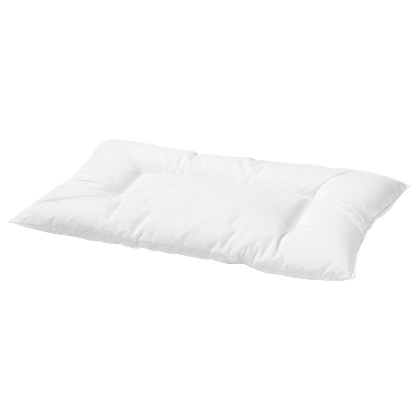LEN Kopfkissen für Kinderbett - weiß - IKEA