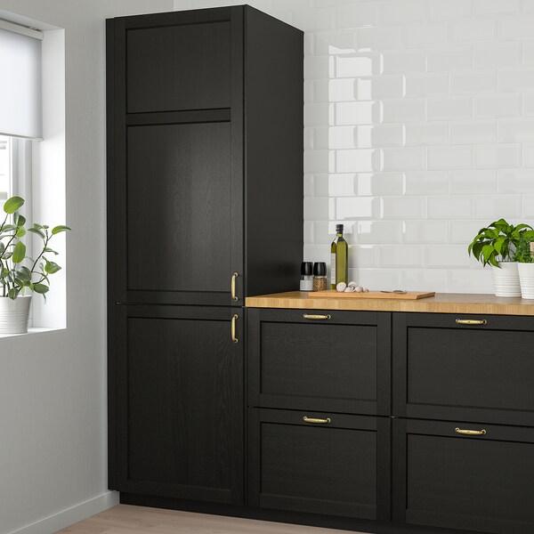 LERHYTTAN Tür schwarz lasiert 39.7 cm 40.0 cm 40.0 cm 39.7 cm 1.9 cm