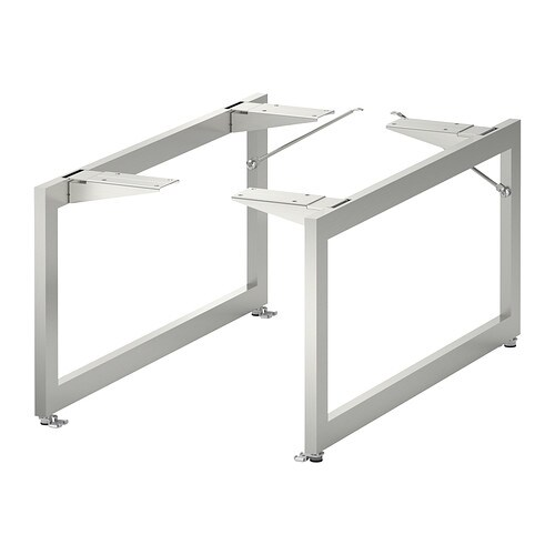 LIMHAMN Bein - Edelstahl, 28x58 cm - IKEA