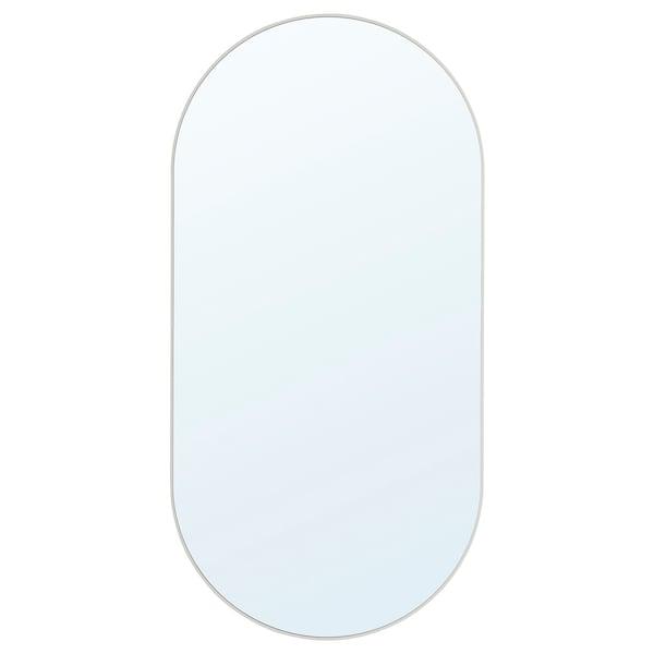 LINDBYN Spiegel, weiß, 60x120 cm