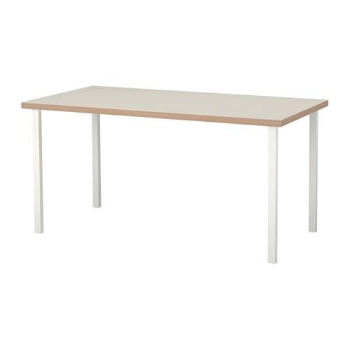 linnmon godvin tisch beige wei ikea. Black Bedroom Furniture Sets. Home Design Ideas