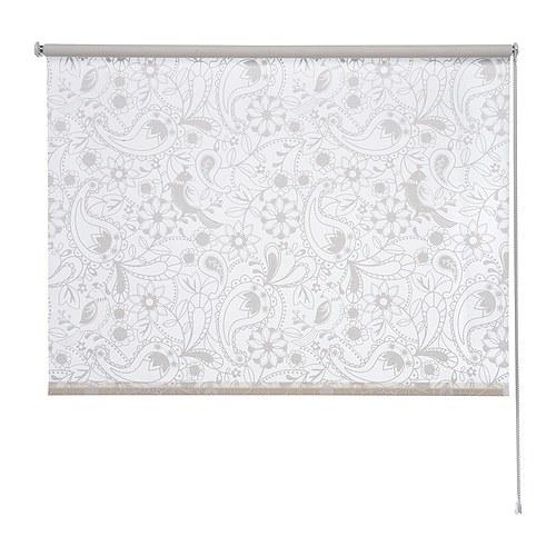 Ikea Alang Floor Lamp White ~ LISELOTT Rollo > Der Beschlag zum Befestigen der Zugschnur an der Wand