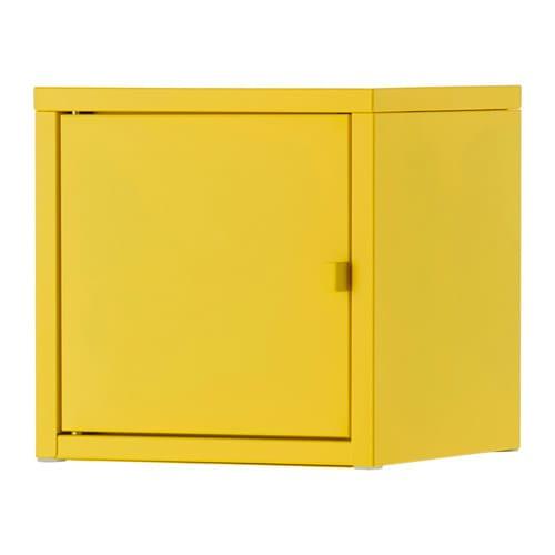 LIXHULT Schrank  Metallgelb  IKEA