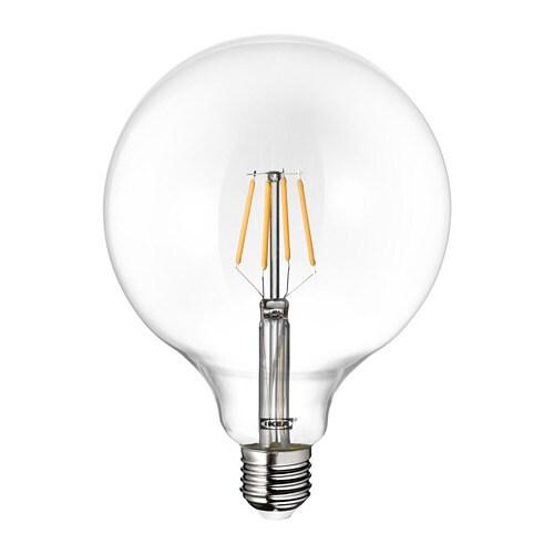 lunnom led leuchtmittel e27 600 lm - Ikea Led Lampen