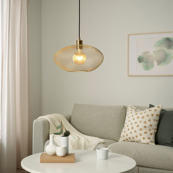 LUNNOM LED-Leuchtmittel E27 80 lm, rund gestreift/Klarglas braun
