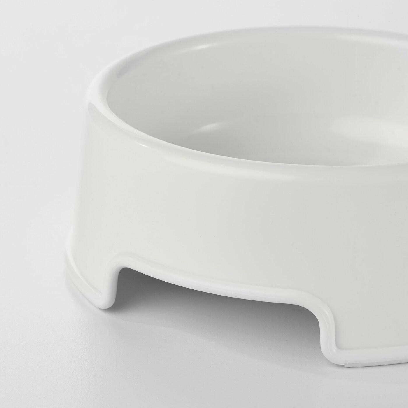 LURVIG Futternapf, weiß, 0.3 l