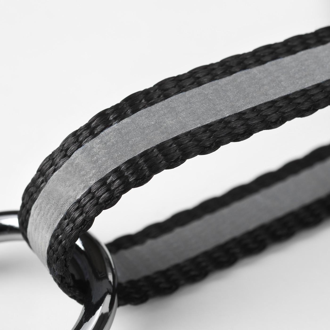 LURVIG Reflektorgurt, schwarz, 34-52x38-58 cm
