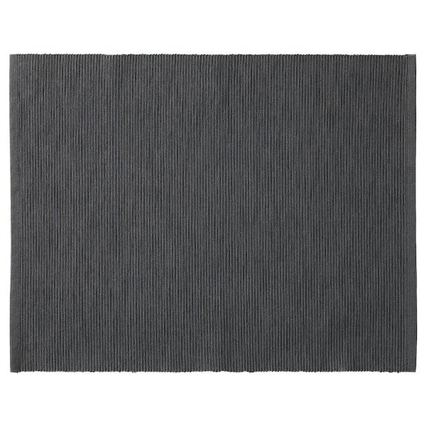 MÄRIT Tischset, schwarz, 35x45 cm