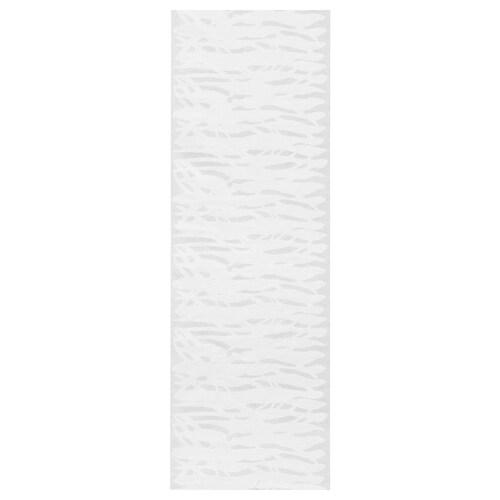 MAGNILLA Schiebegardine weiß/weiß 300 cm 60 cm