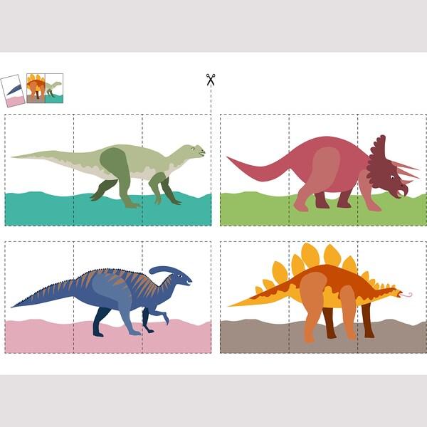 MÅLA Bastelbuch, Dinosaurier