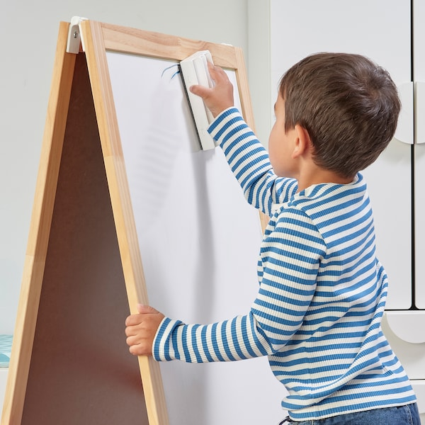 MÅLA Whiteboardstift mit Halter/Wischer, versch. Farben