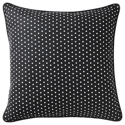 MALINMARIA Kissen, dunkelgrau/weiß Punkte, 40x40 cm