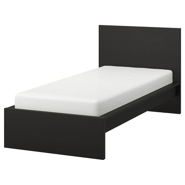 Malm Bettgestell Hoch Schwarzbraun Ikea Osterreich