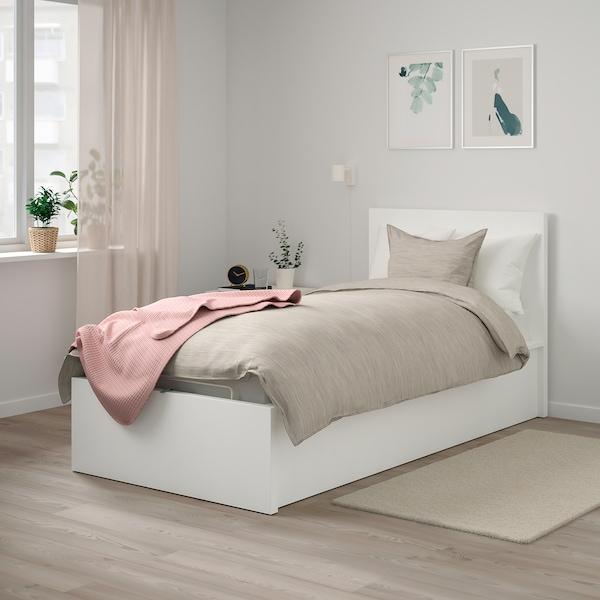Malm Bettgestell Mit Aufbewahrung Weiss Ikea Osterreich