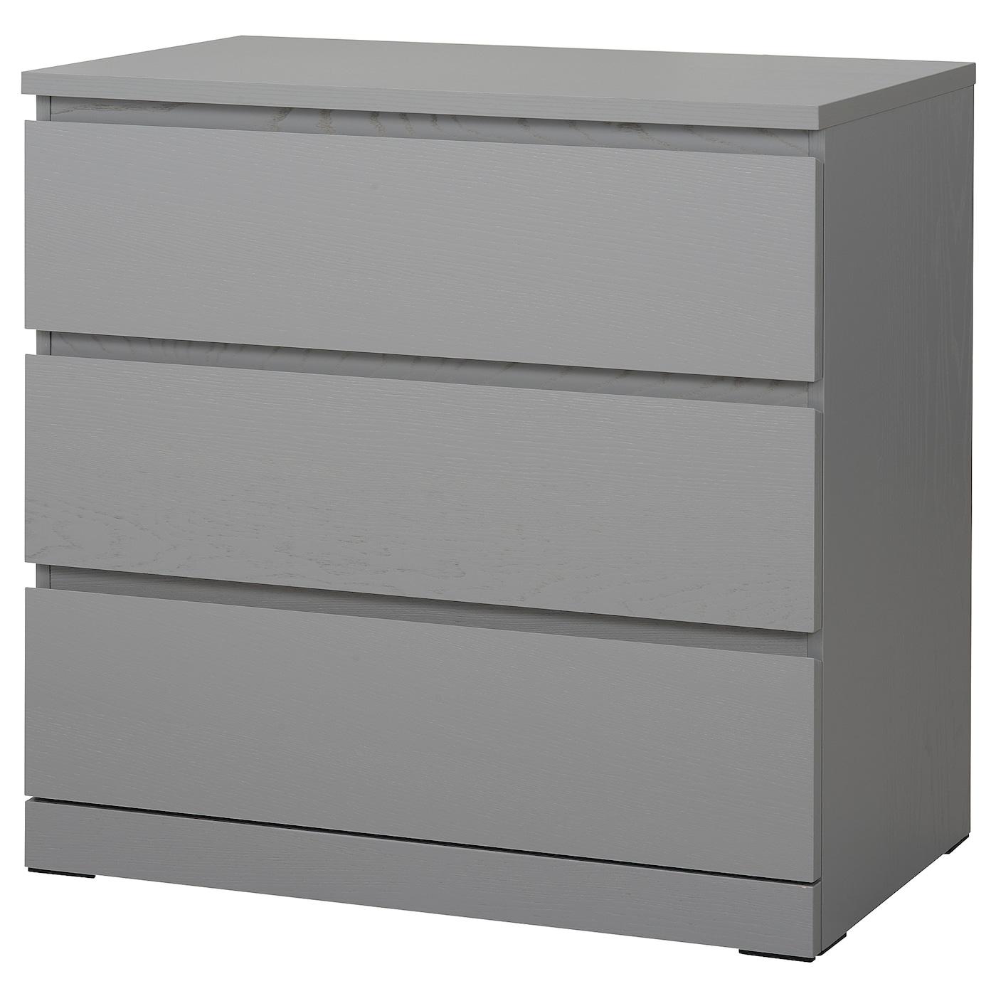 Braune Ikea Brimnes Kommode