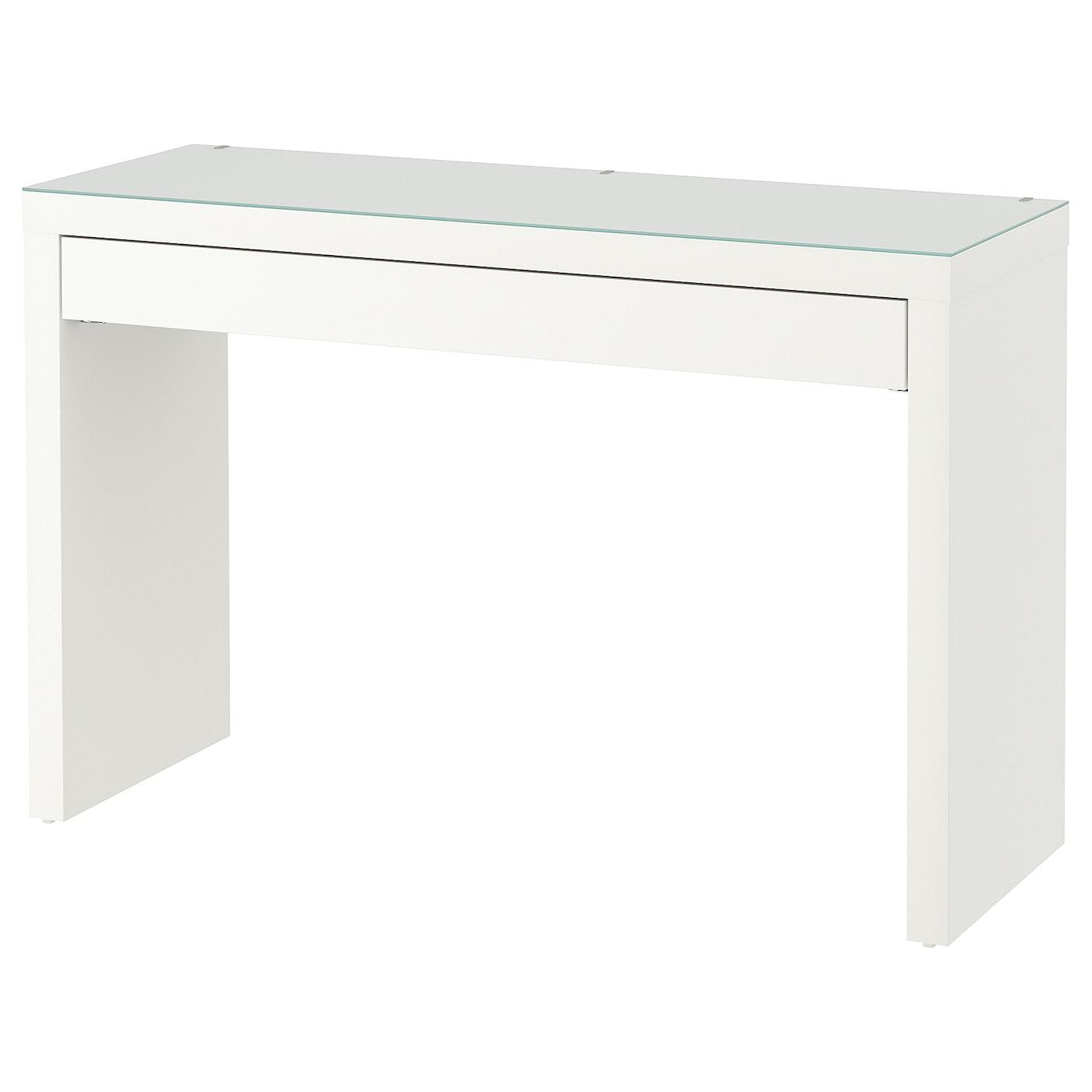MALM Frisiertisch weiß 120x41 cm