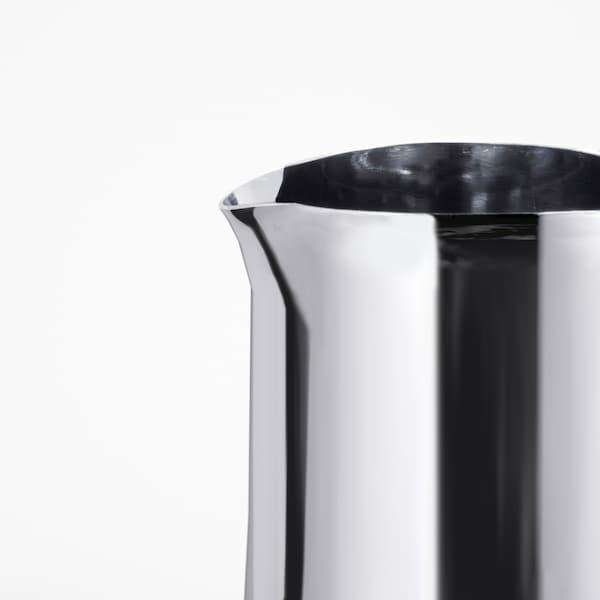 MÅTTLIG Milchaufschäumkanne, Edelstahl, 0.5 l
