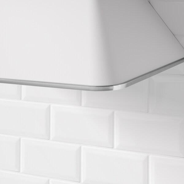 MATTRADITION Dunstabzugshaube f Wandmontage weiß 106.7 cm 74.5 cm 114.2 cm 74.5 cm 60.0 cm 45.8 cm 1.3 m 11.60 kg 21.0 cm 18.0 cm