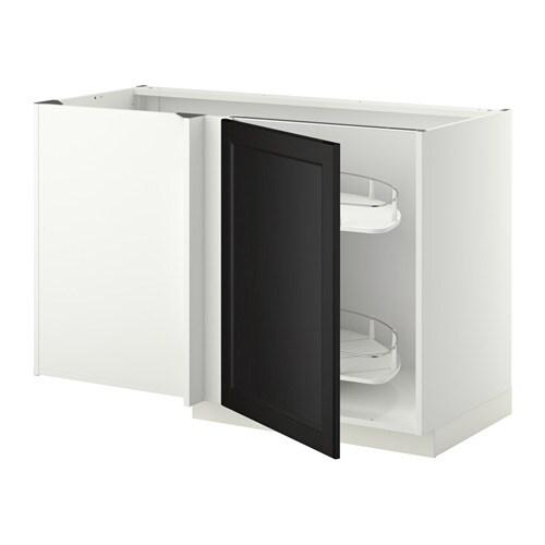 Ikea Kuche Laxarby Weiß :  ausziehb Einricht  weiß, Laxarby schwarzbraun  IKEA