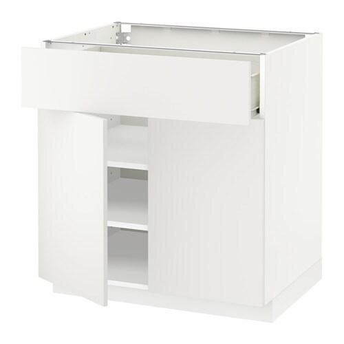 metod f rvara unterschr m schub 2 t ren h ggeby wei ikea. Black Bedroom Furniture Sets. Home Design Ideas