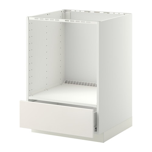 Ikea Düsseldorf Schuhschrank ~ METOD FÖRVARA Unterschrank für Ofen mit Schubl > Leicht laufende